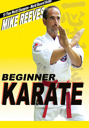 Beginner Karate, Good DVD, Mike Reeves,