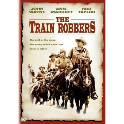 The Train Robbers, Good DVD, John Wayne, Ann-Margret, Ben Johnson, Rod Taylor, B