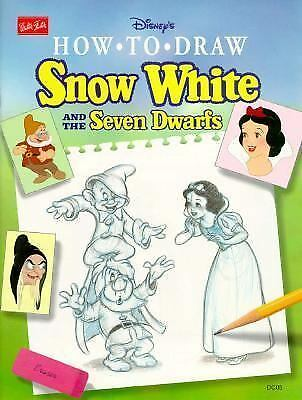 Disney How to Draw Snow White (Disney Classic Character Series), Foster, Walter,