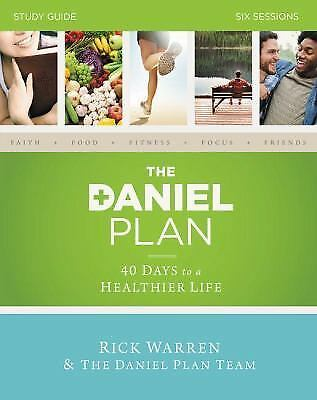 The Daniel Plan Study Guide: 40 Days to a Healthier Life, Hyman, Dr. Mark, Amen,