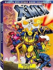 X-Men: Volume One (Marvel DVD Comic Book Collection), Good DVD, Alison Seasly-Sm