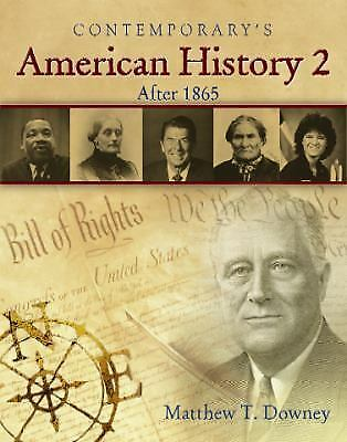 American History 2 (After 1865) - Softcover Student Text Only, Downey, Matthew,