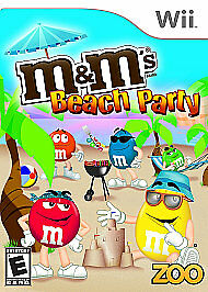 M&M's Beach Party - Nintendo Wii