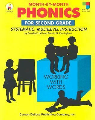 Month-By-Month Phonics for Second Grade: Systematic, Multilevel Instruction for