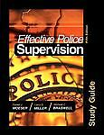 Effective Police Supervision STUDY GUIDE, Miller, Larry S., Acceptable Book
