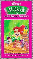 Ariel's Undersea Adventures: Double Bubble [VHS] by Jodi Benson, Samuel E. Wrig