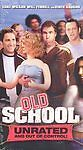 Old School (Unrated Edition) [VHS] by Luke Wilson, Vince Vaughn, Will Ferrell,