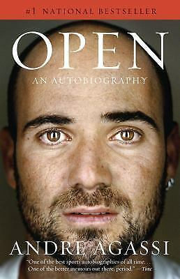 Open: An Autobiography (Vintage), Andre Agassi, Very Good Book