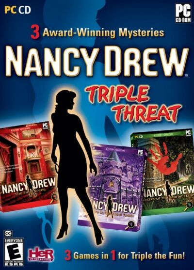 Nancy Drew: Triple Threat Compilation - Windows by Her Interactive