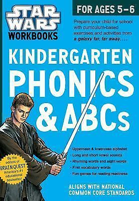 Star Wars Workbook: Kindergarten Phonics and ABCs (Star Wars Workbooks) by Work