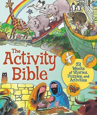 The Activity Bible, B&H Kids Editorial Staff, Very Good Book