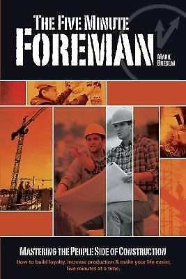 The Five Minute Foreman, Mark Breslin, Very Good Book