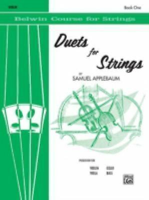 Duets for Strings, Book 1, Violin (Belwin Course for Strings) by Applebaum, Sam