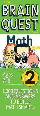 Brain Quest Grade 2 Math by Brainquest