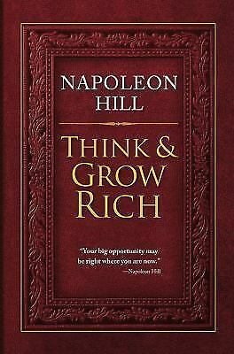 Think and Grow Rich, Napoleon Hill, Very Good Book