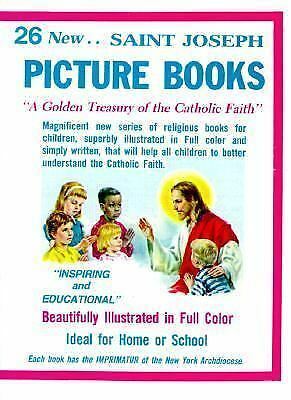 St. Joseph Picture Books (Set of 26 Books), Catholic Book Publishing Co, Good Bo