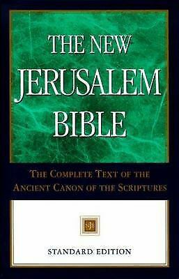 The New Jerusalem Bible: Standard Edition, Wansbrough, Henry, Good Book