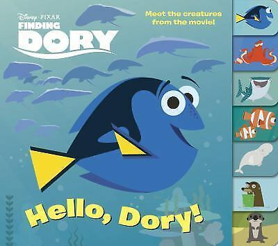 Hello, Dory! Disney/Pixar Finding Dory Tabbed Board Book