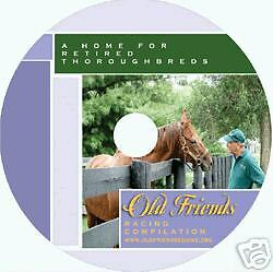 CHARITY - OLD FRIENDS DVD - HORSE RACING -THOROUGHBREDS