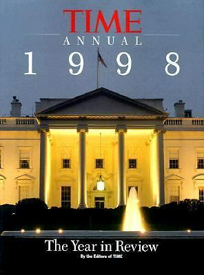 Time Annual 1998: The Year in Review (1999, Hardcover)