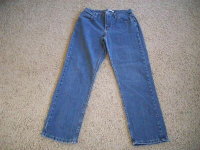 RIDERS Staight Leg  5 Pockets Stretch Jeans 30X29 Women's 8 M  #2707