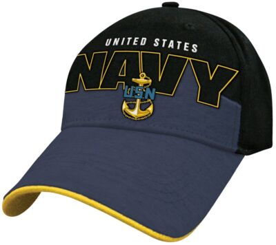 UNITED STATES NAVY (SKYLINE) Military Baseball Cap