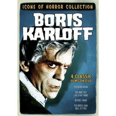 Icons of Horror - Boris Karloff (The Boogie Man Will Get You/The Black Room/The