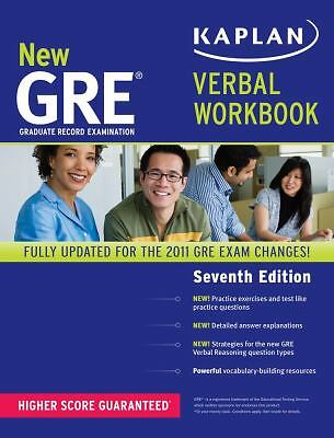 New GRE Verbal Workbook (Kaplan GRE) by Kaplan