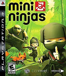 Mini Ninjas - Playstation 3, Square Enix