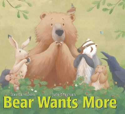 Bear Wants More (The Bear Books) by Wilson, Karma