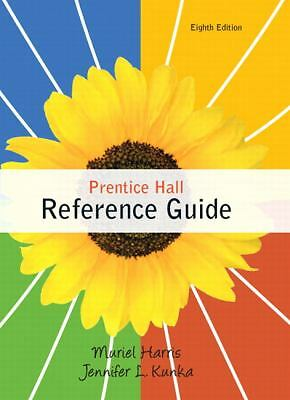 Prentice Hall Reference Guide (8th Edition) by Muriel Harris, Jennifer L. Kunka