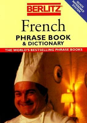 Berlitz French Phrase Book & Dictionary (Berlitz Phrasebooks), Berlitz, Good Con