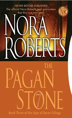 The Pagan Stone: The Sign of Seven Trilogy, Nora Roberts, Good Condition, Book
