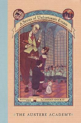 The Austere Academy (A Series of Unfortunate Events #5), Lemony Snicket, Good Co