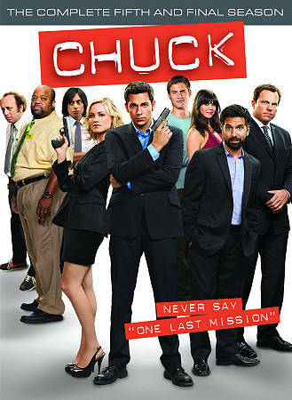 Chuck: The Complete Fifth and Final Season by