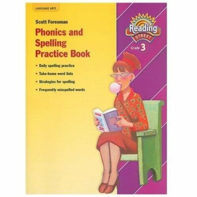 READING 2007 SPELLING PRACTICE BOOK GRADE 3 (Reading Street) by Scott Foresman