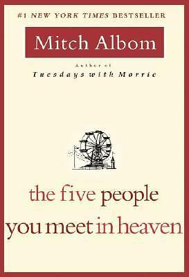 The Five People You Meet in Heaven, Mitch Albom, Good Condition, Book