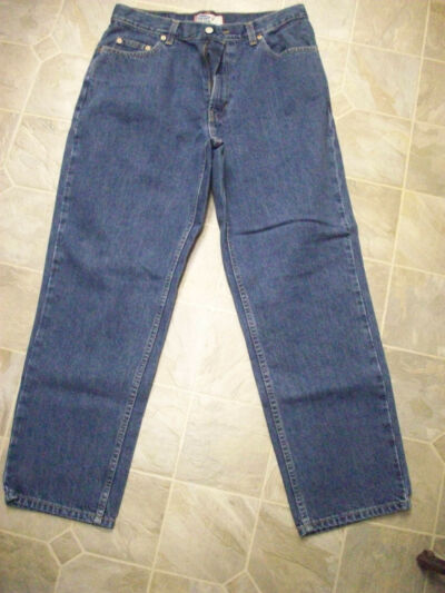 OLD NAVY Straight Leg 5 Pocket Cotton Jeans 32X29 Women 12 Short  #3100
