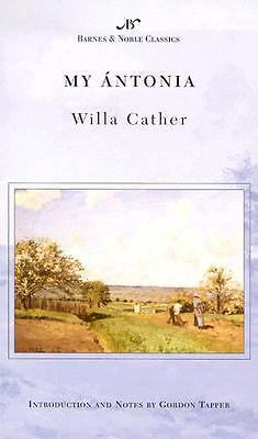 My Antonia  Cather, Willa(Author) ;  Tapper, Gordon A.(Introduction by)