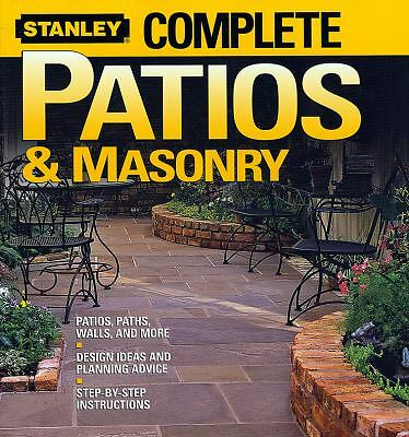 Complete Patios and Masonry (Stanley Complete), Stanley, Good Condition, Book