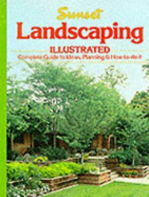 Landscaping Illustrated, Sunset Books, Good Condition, Book