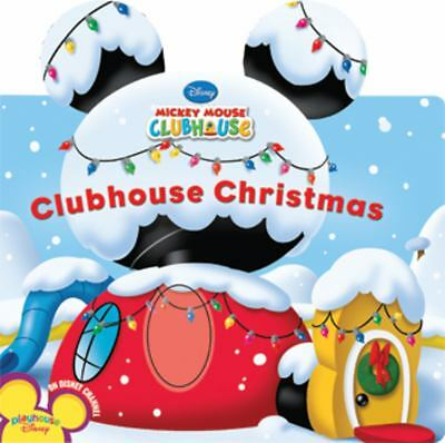 Clubhouse Christmas (Mickey Mouse Clubhouse) by Disney Book Group, Amerikaner,