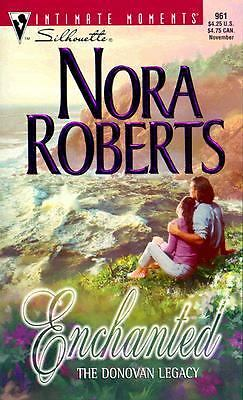 Enchanted: The Donovan Legacy (Silhouette Intimate Moments, #961), Nora Roberts,