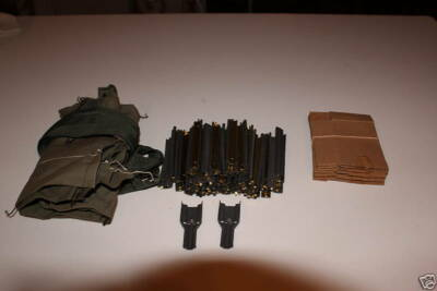 Military Surplus,100 223 Stripper Clips, 2 guides