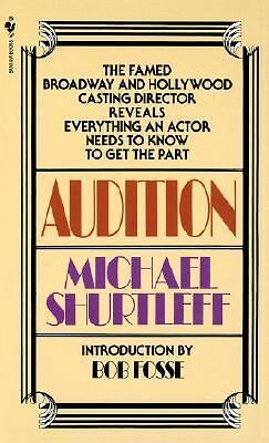 Audition, Michael Shurtleff, Good Condition, Book