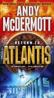 Return to Atlantis: A Novel (Nina Wilde/Eddie Chase), McDermott, Andy