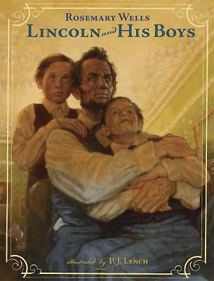 Lincoln and His Boys, Wells, Rosemary, Good Condition, Book