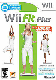 Wii Fit Plus - Software Only by Nintendo