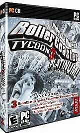 Rollercoaster Tycoon 3 Platinum - PC by