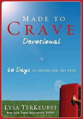 Made to Crave Devotional: 60 Days to Craving God, Not Food, TerKeurst, Lysa